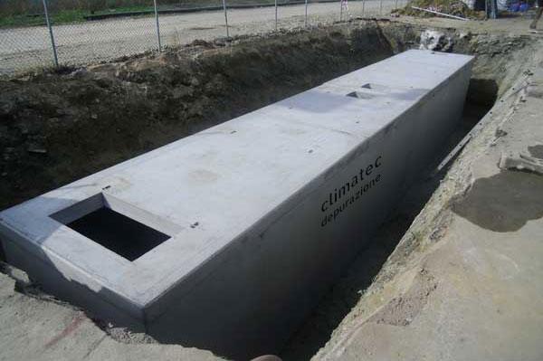 Vasca Da Lavare In Cemento : Vasche prefabbricate in cemento armato climatec depurazione acque