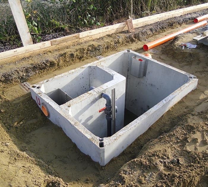 Depurazione acque vasche e trattamento acque reflue for Fosse settiche in cemento